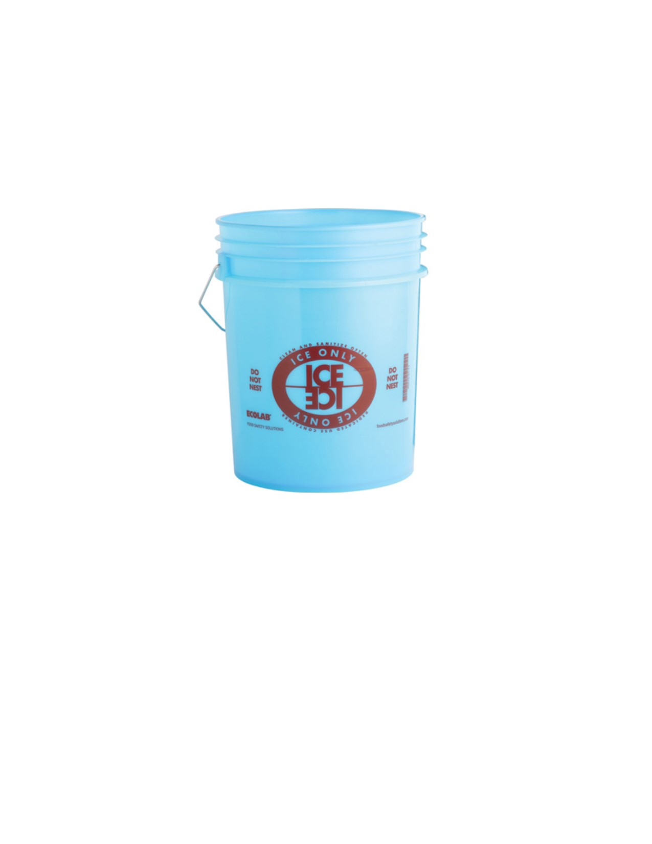 3500-37 Ecolab Food Safty Specialties Ice-Only Bucket
