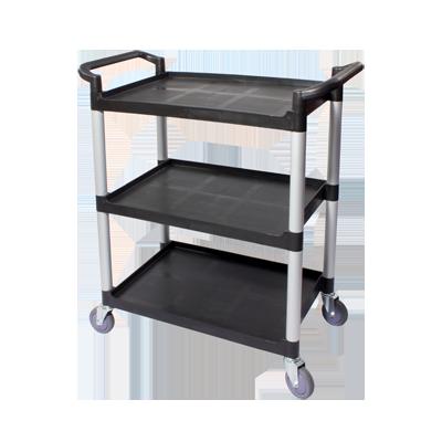 3600-13 Crestware Cart, Utility Transport, Plastic, 3 Tier LG