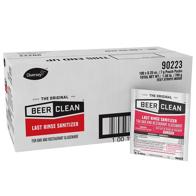 3675-7 Dracket Last Rinse Sanitizer 100/pks