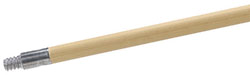 3700-105 Handle, Wood, threaded w/metal tip