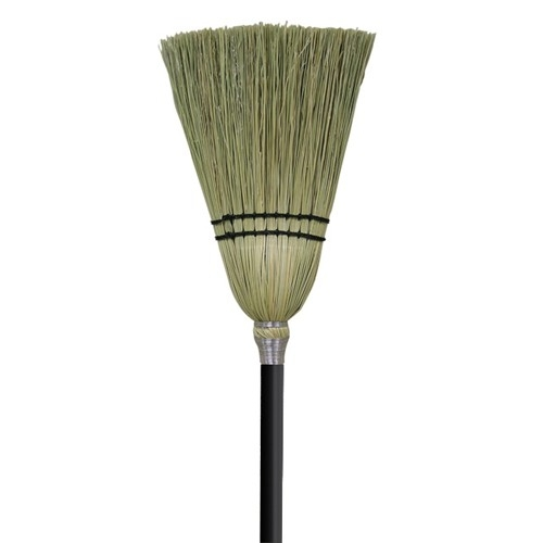 3700-127 Corn Broom w/black handle, 30
