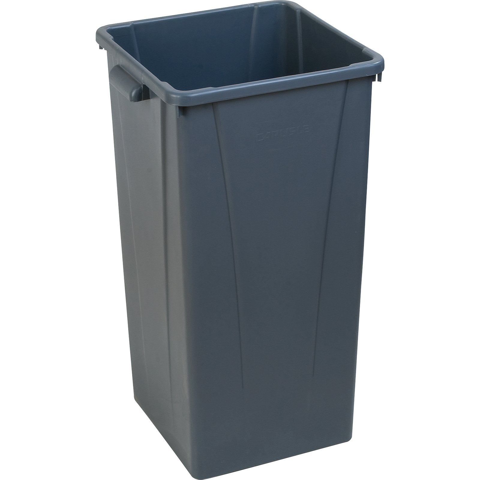 3700-45 Gray Square 23gal Waste Container