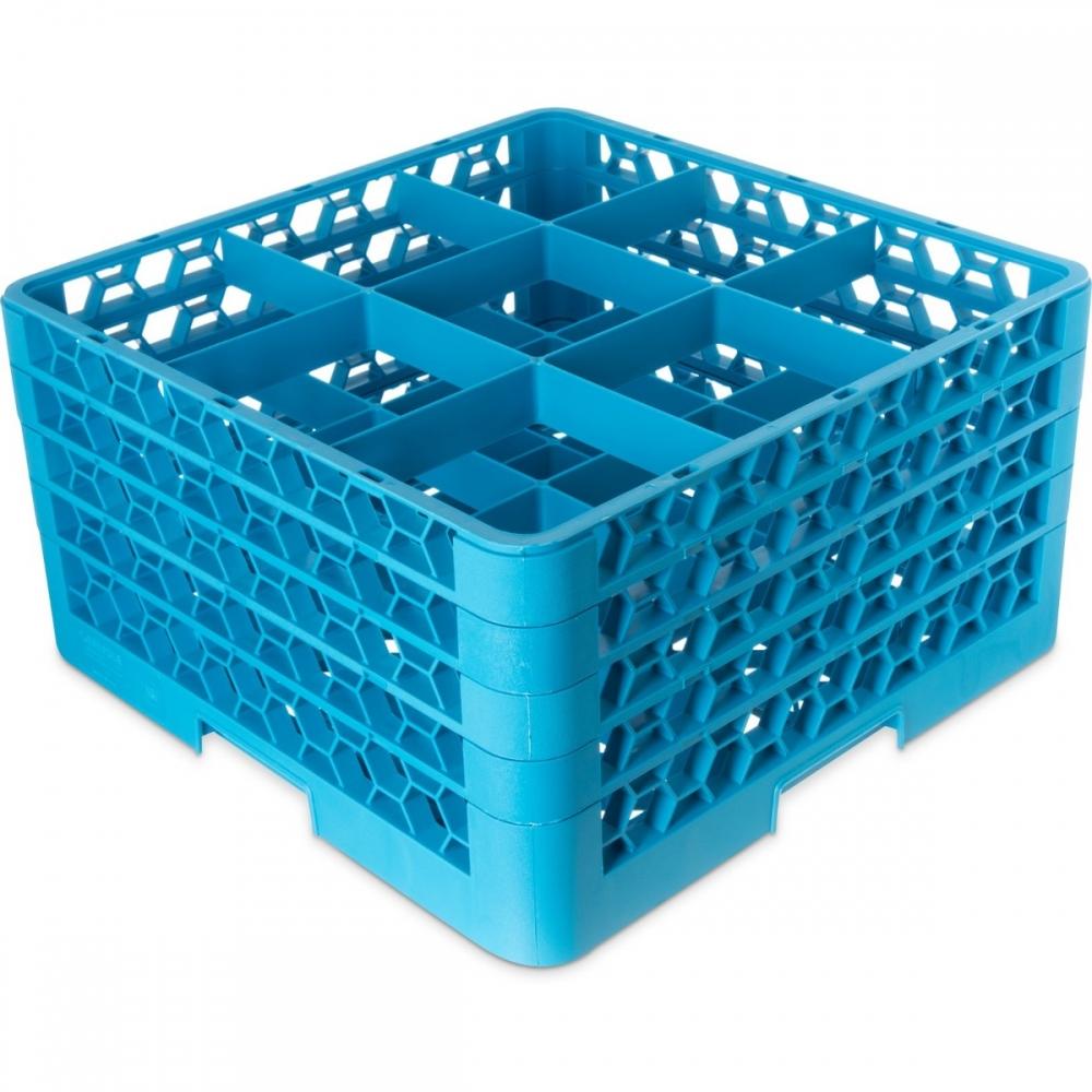3850-25 Dish Rack 9 Comp w/3ext (Sports Mugs)
