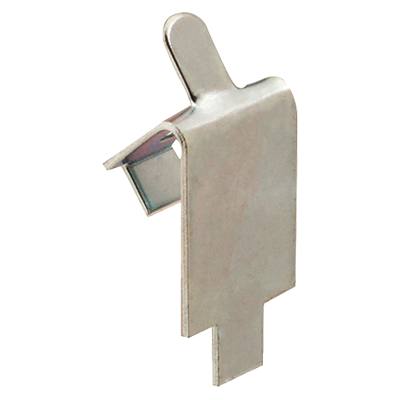 4950-49 Shelf Clip, S/S Square Slotted (refrigerator)