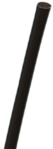 7000-05 Bulk Bar Products Straw 5¾ Blk, 300ct