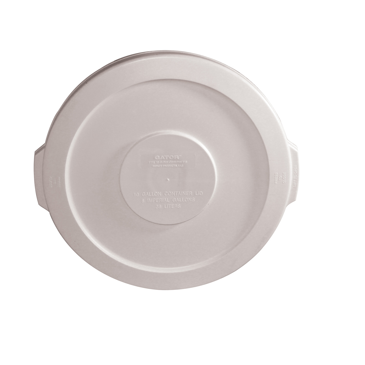 3700-013 Impact Products 7711-1 trash receptacle lid / top