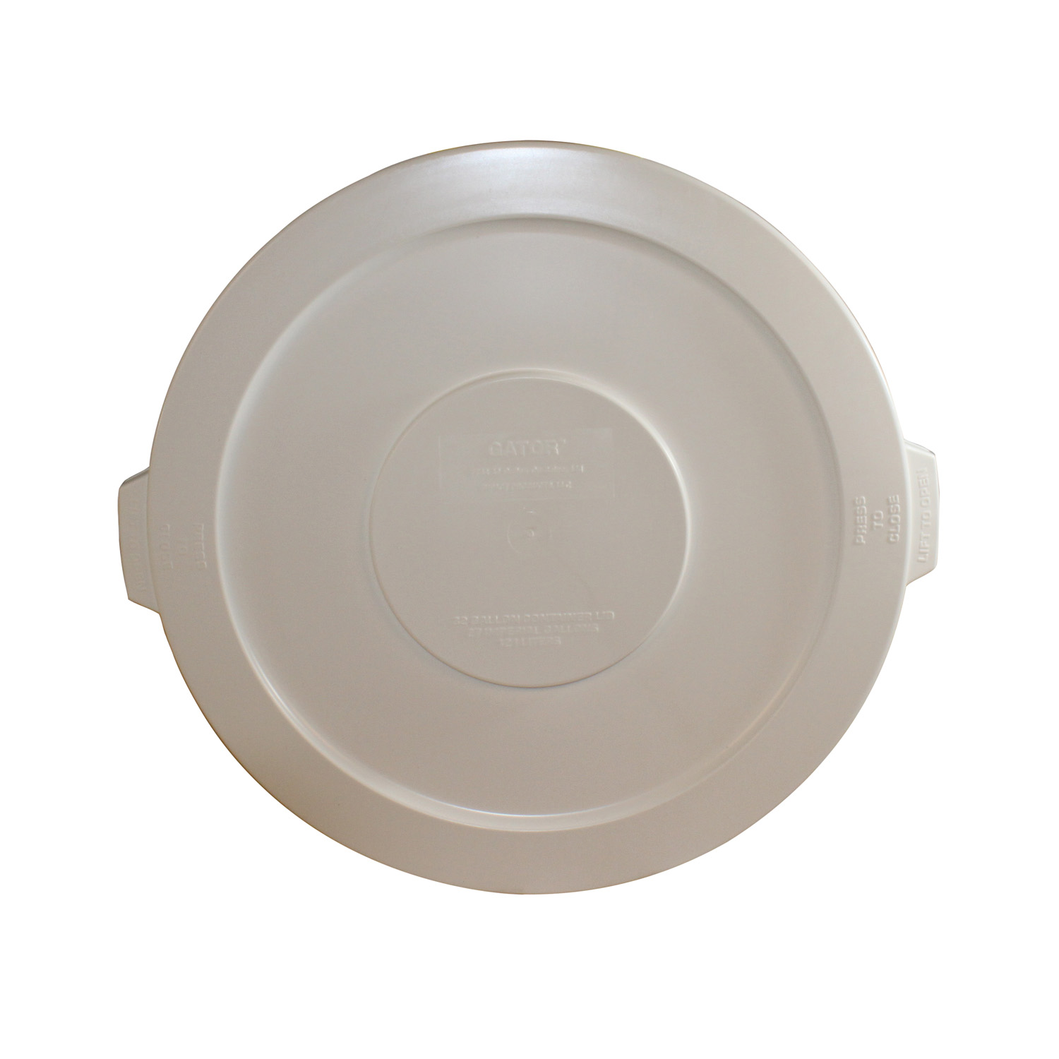 3700-033 Impact Products 7733-1 trash receptacle lid / top