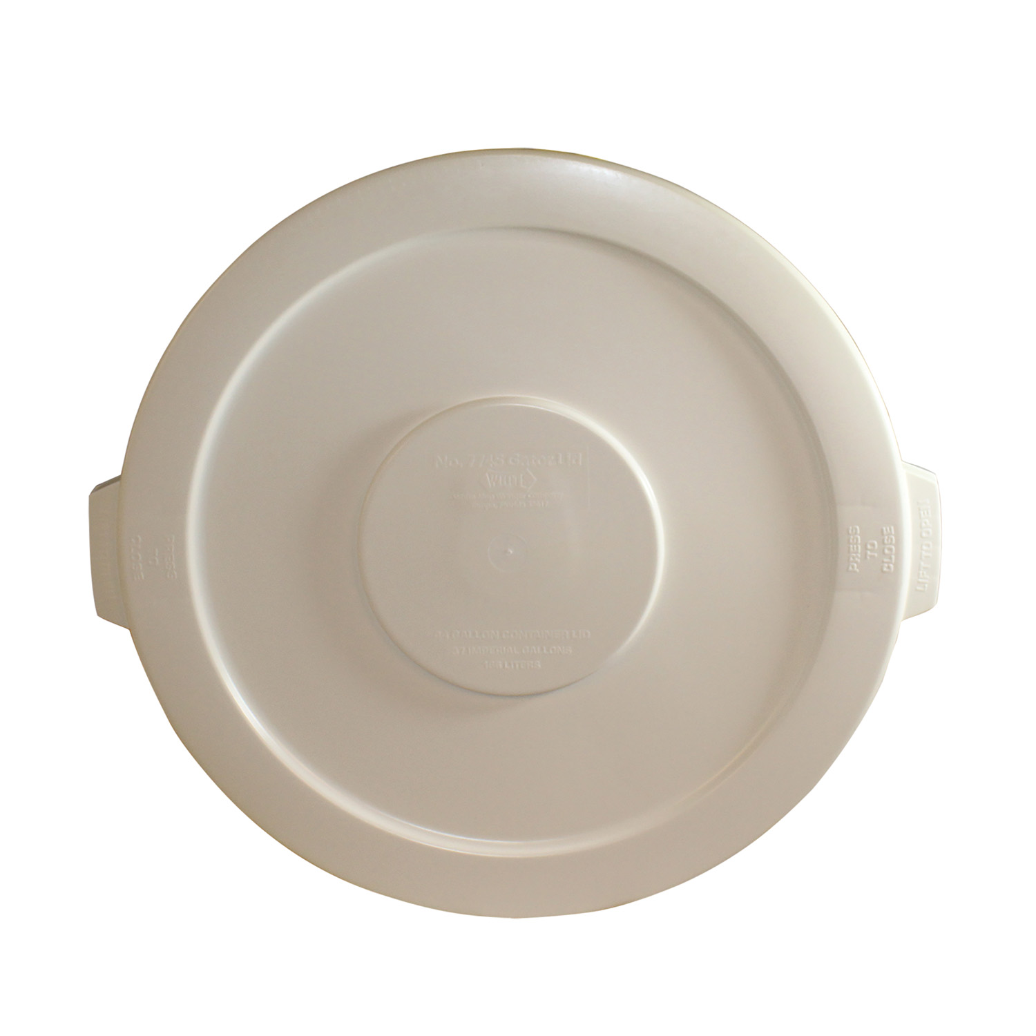 3700-044 Impact Products 7745-1 trash receptacle lid / top