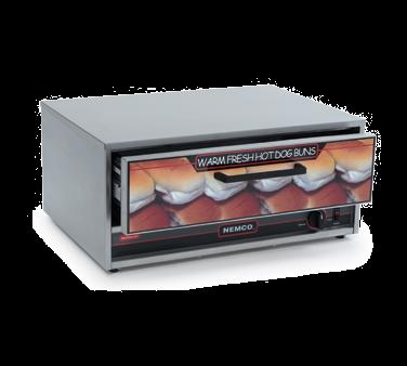 8027-BW Nemco Food Equipment hot dog bun / roll warmer