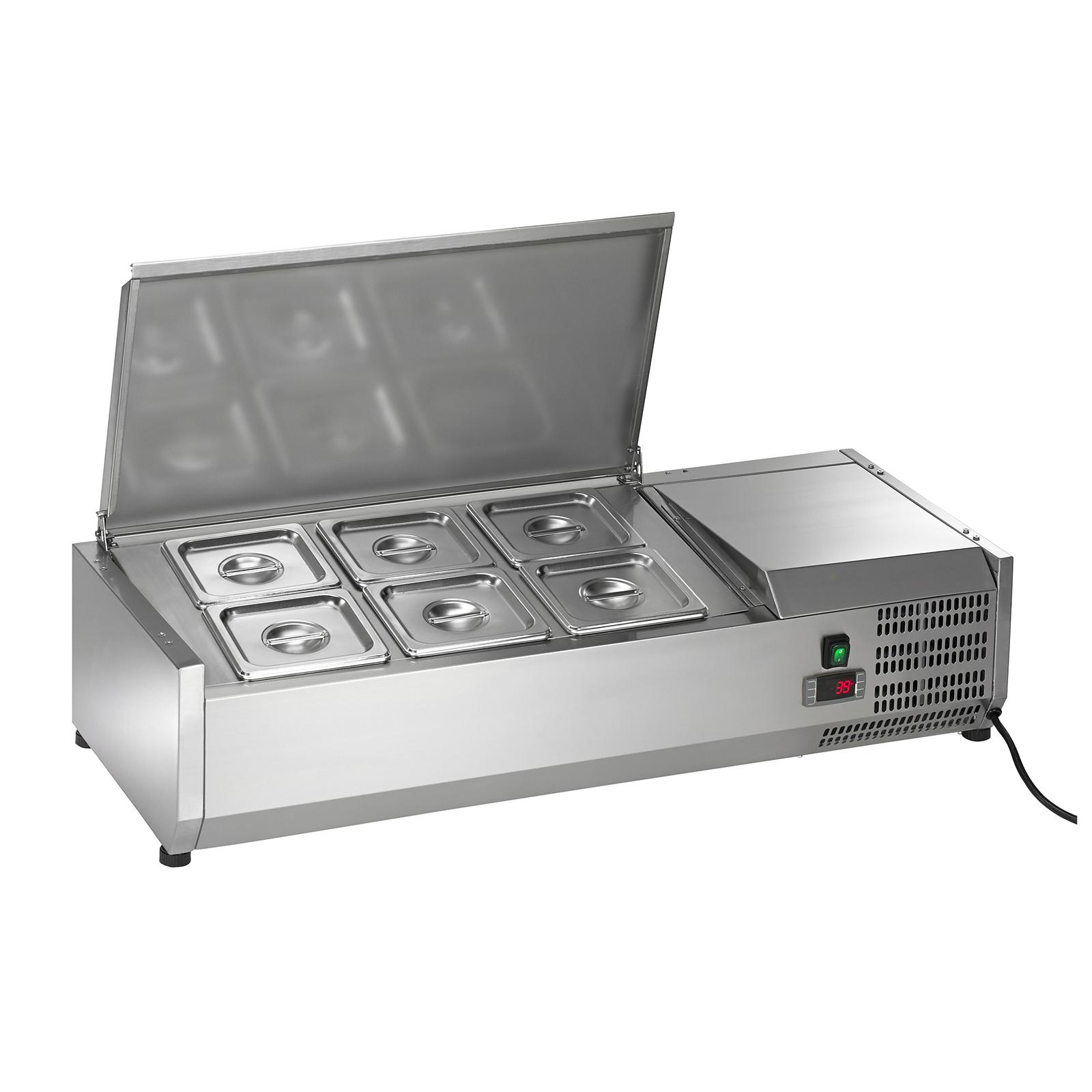 ACP40 Arctic Air refrigerated countertop pan rail
