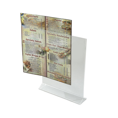 3107-337 Winco ATCH-811 menu card holder / number stand