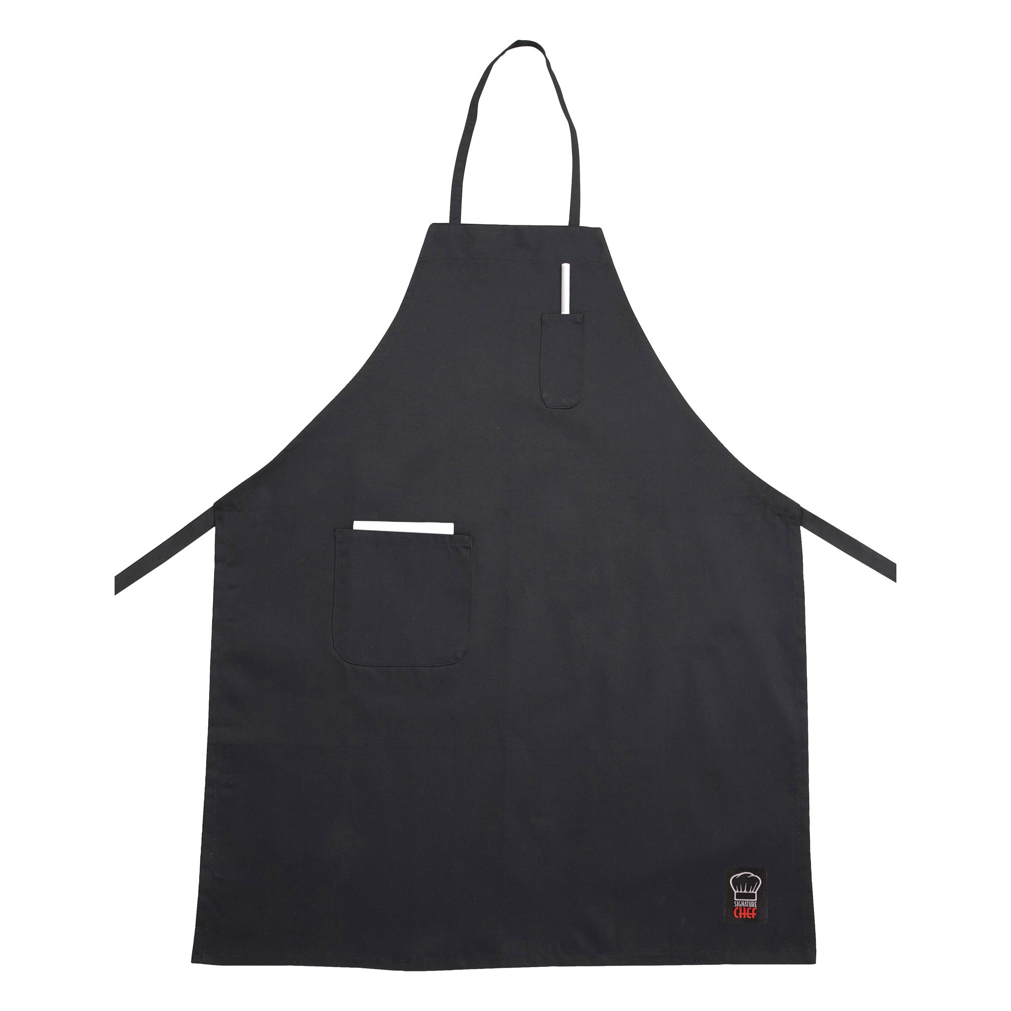 1550-75 Winco BA-PBK bib apron