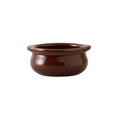3050-110 Tuxton China BAS-1003 soup bowl crock, onion