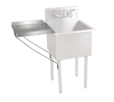 3750-124 BK Resources BK8BS-DD1821 drainboard, detachable
