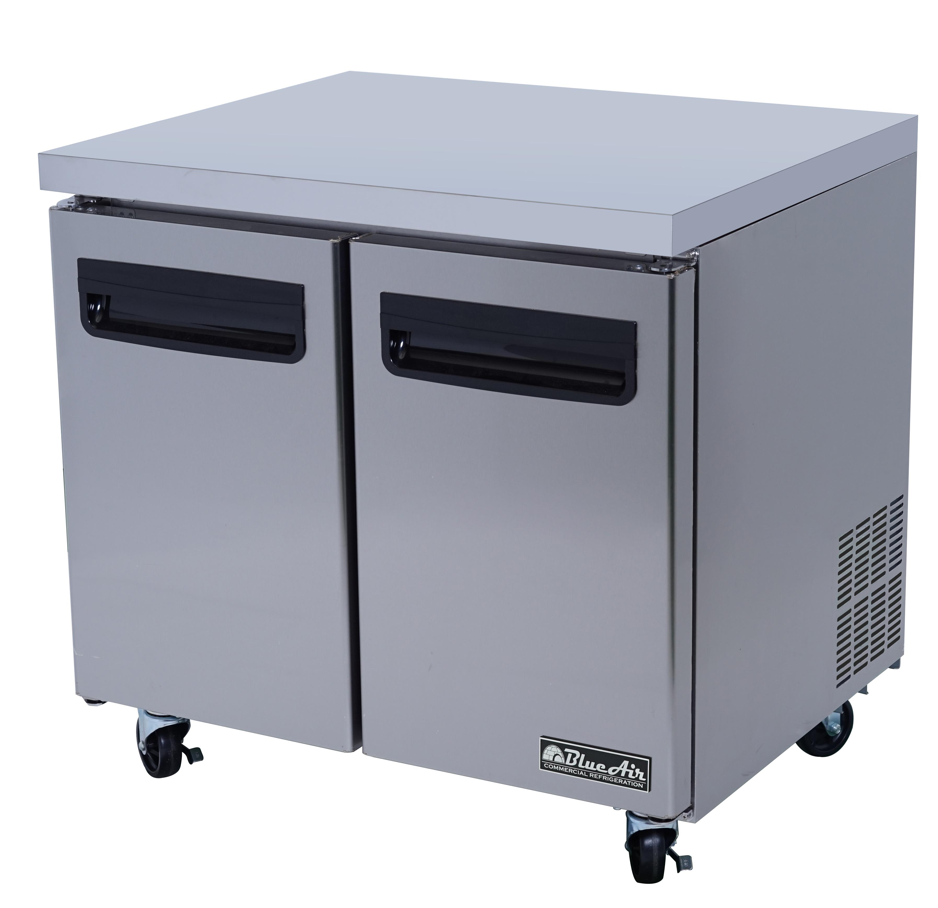 BLUR36 Blue Air Commercial Refrigeration refrigerator, undercounter, reach-in