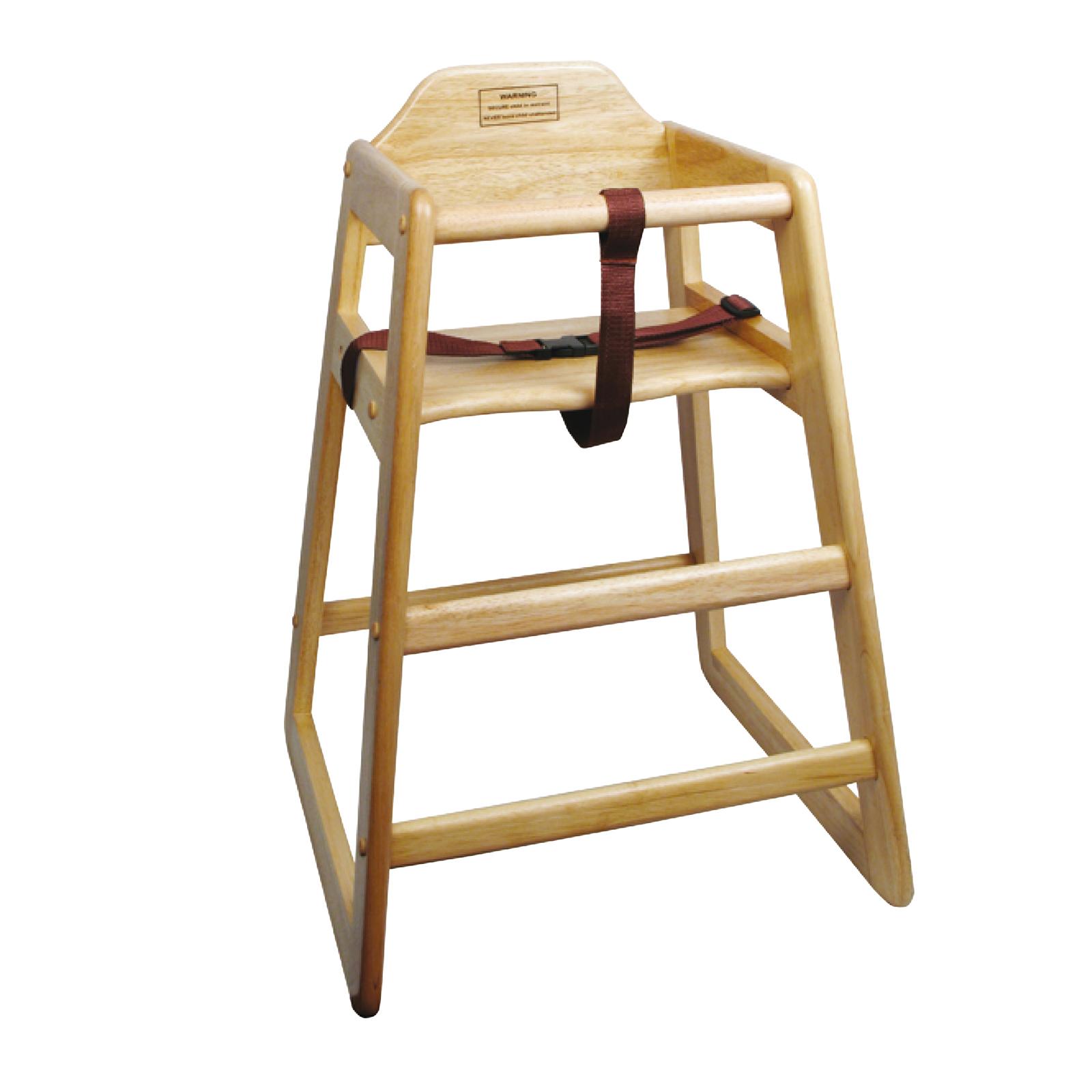 4850-75 Winco CHH-101A high chair, wood Assembled