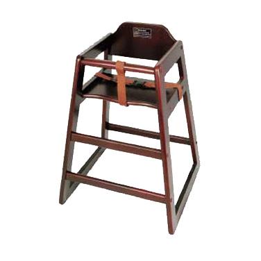 4850-72 Winco CHH-103A high chair, wood