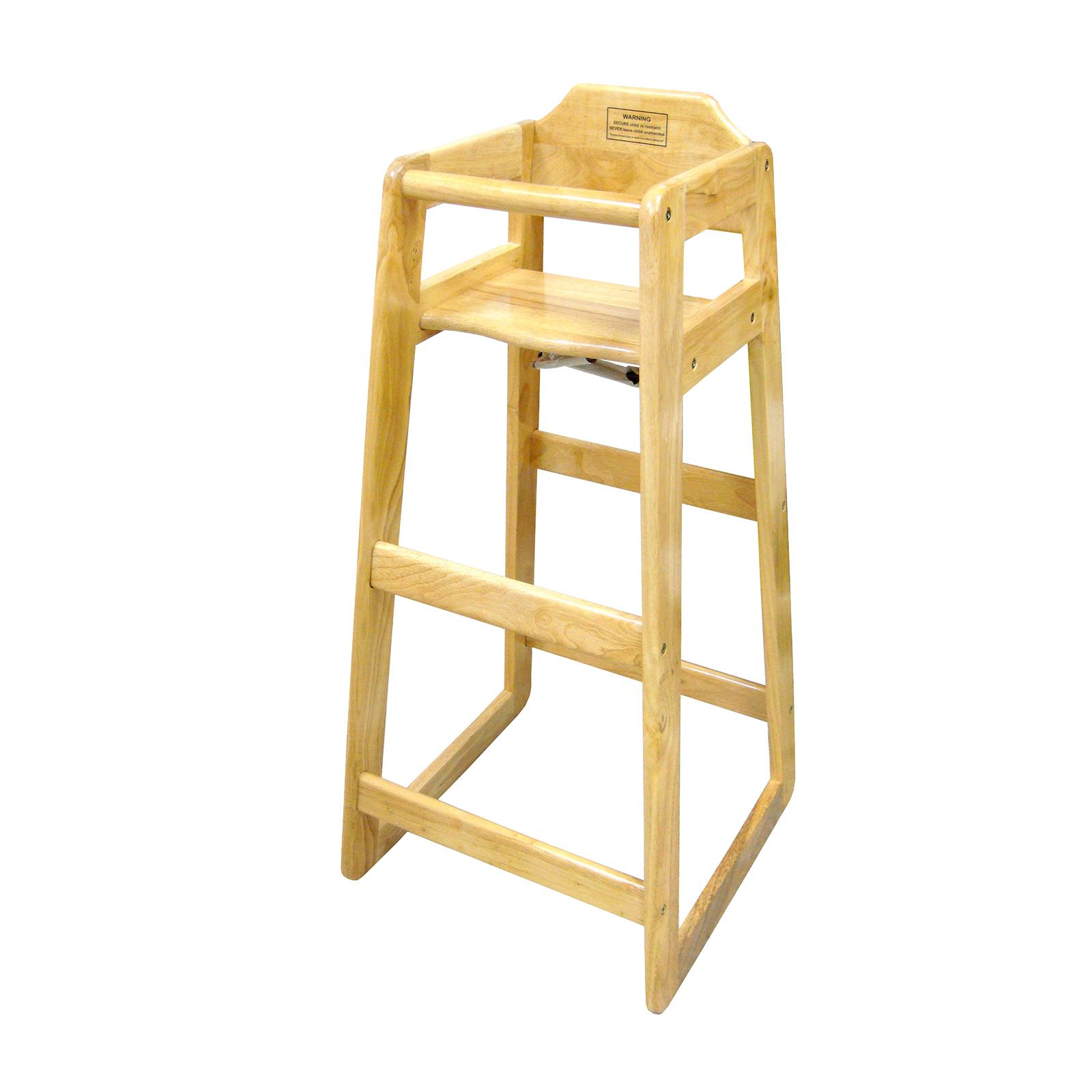 4850-78 Winco CHH-601 high chair, wood