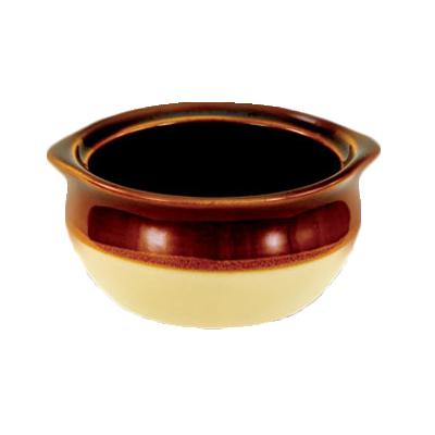 3050-11 Crestware CM4OSC soup bowl crock, onion