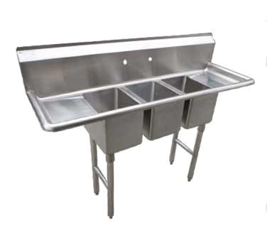 CS3CWP1410212 Serv-Ware sink, (3) three compartment