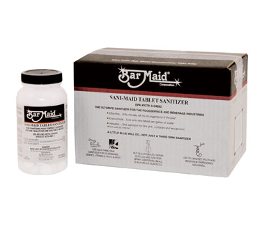 3675-74 Bar Maid/Glass Pro DIS-201 chemicals: cleaner