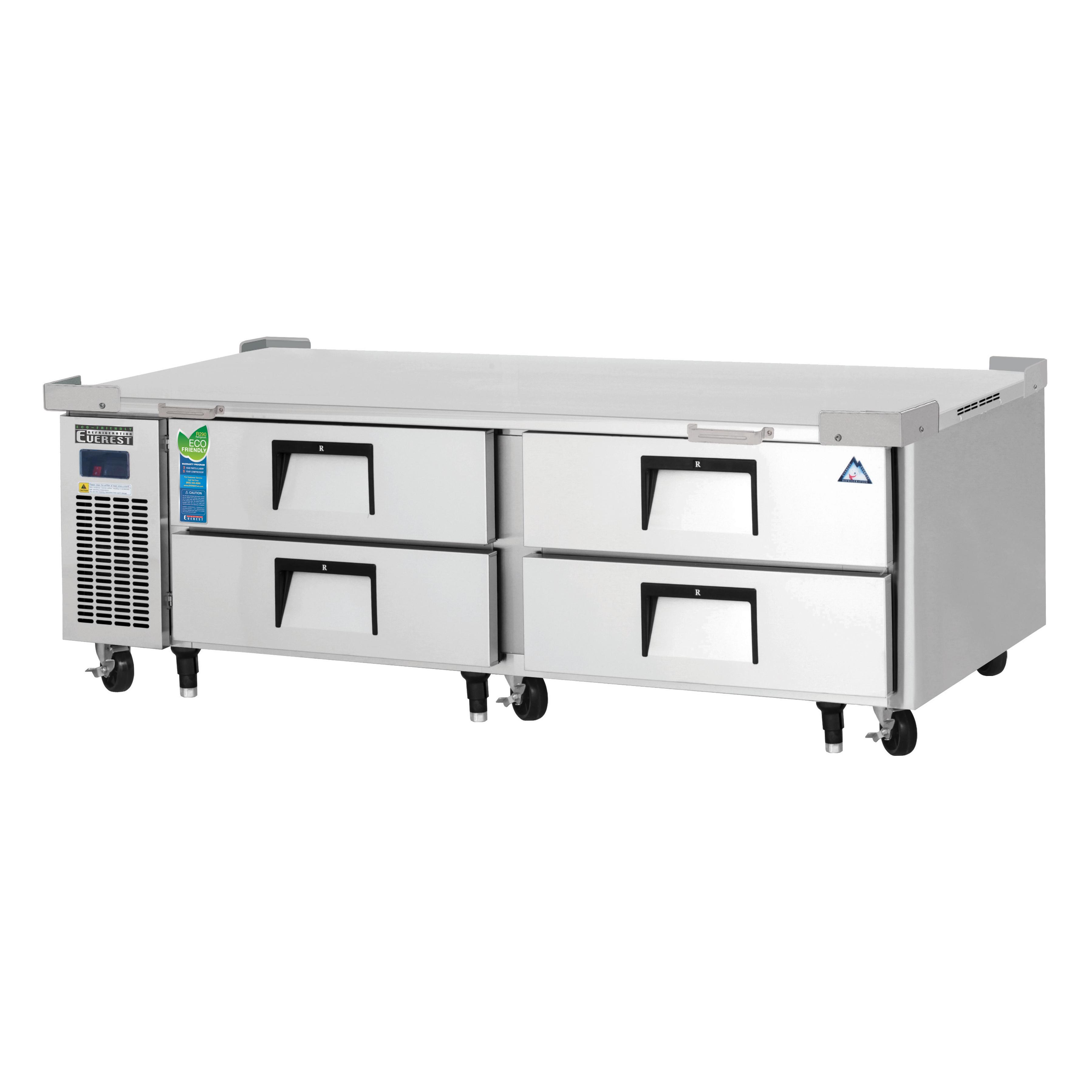 ECB72D4 Everest Refrigeration equipment stand, refrigerated base
