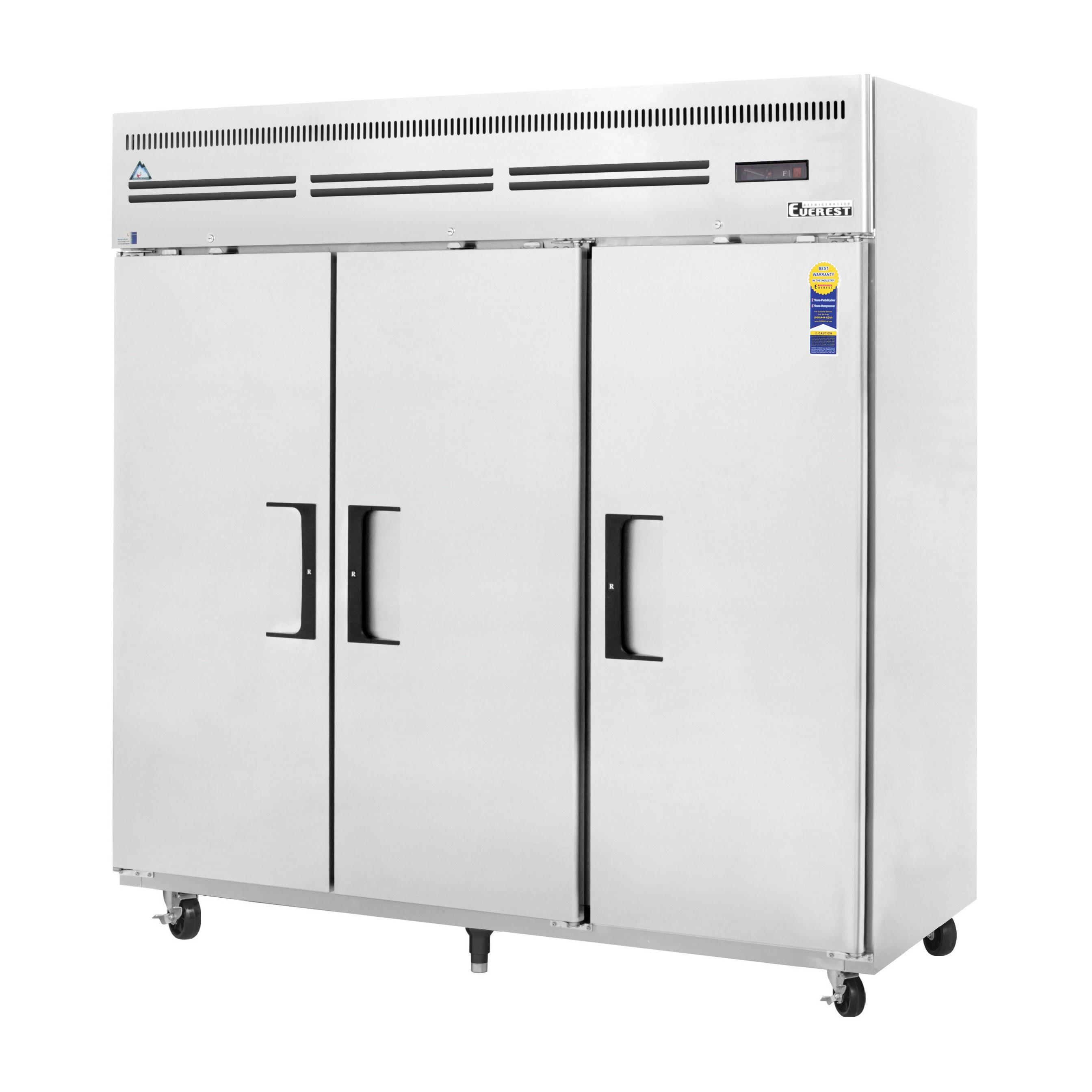 ESF3 Everest Refrigeration freezer, reach-in