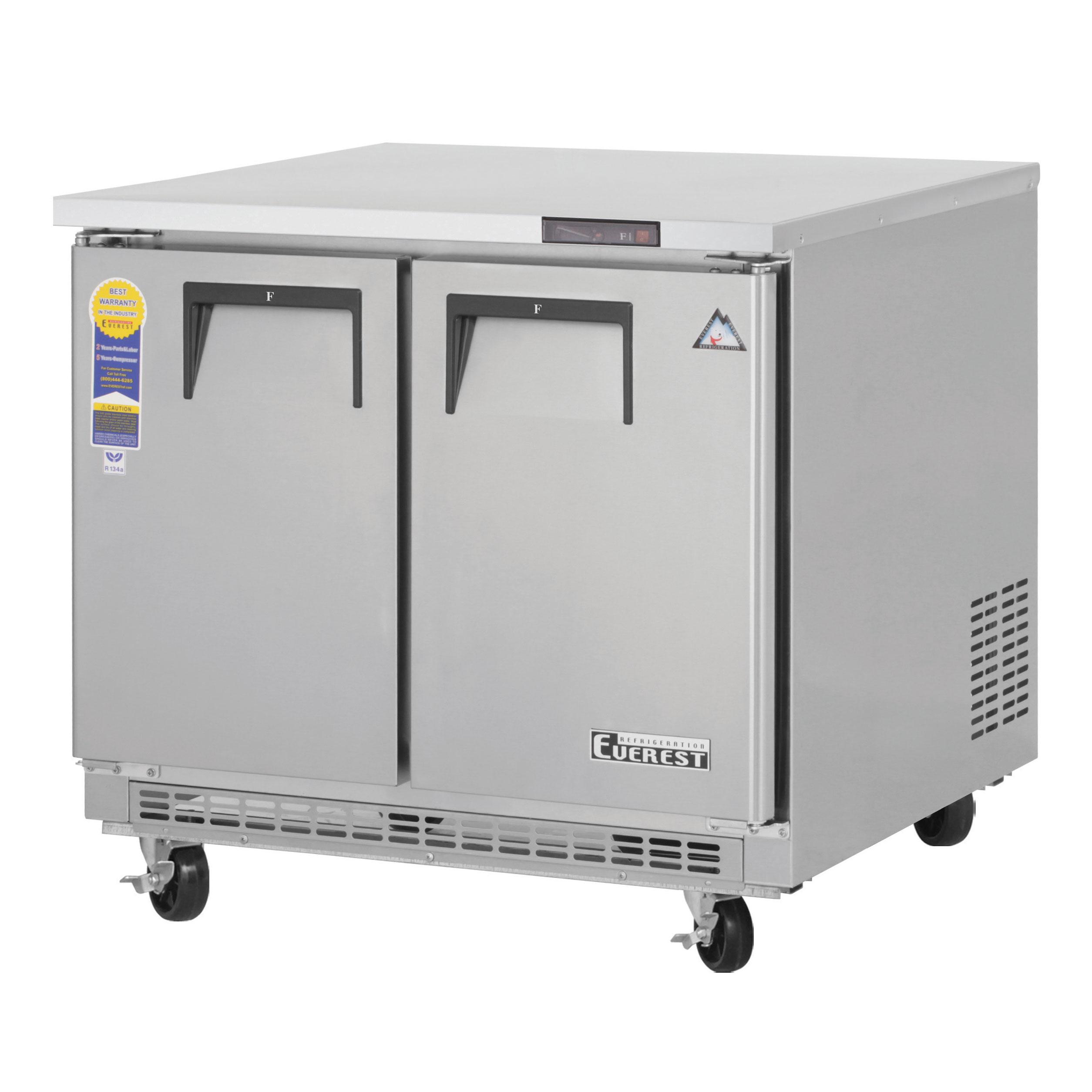 ETBSF2 Everest Refrigeration freezer, undercounter, reach-in