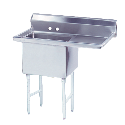 FS-1-1620-18R Advance Tabco sink, (1) one compartment