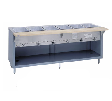G-6-CBPG Duke Manufacturing serving counter, hot food, gas