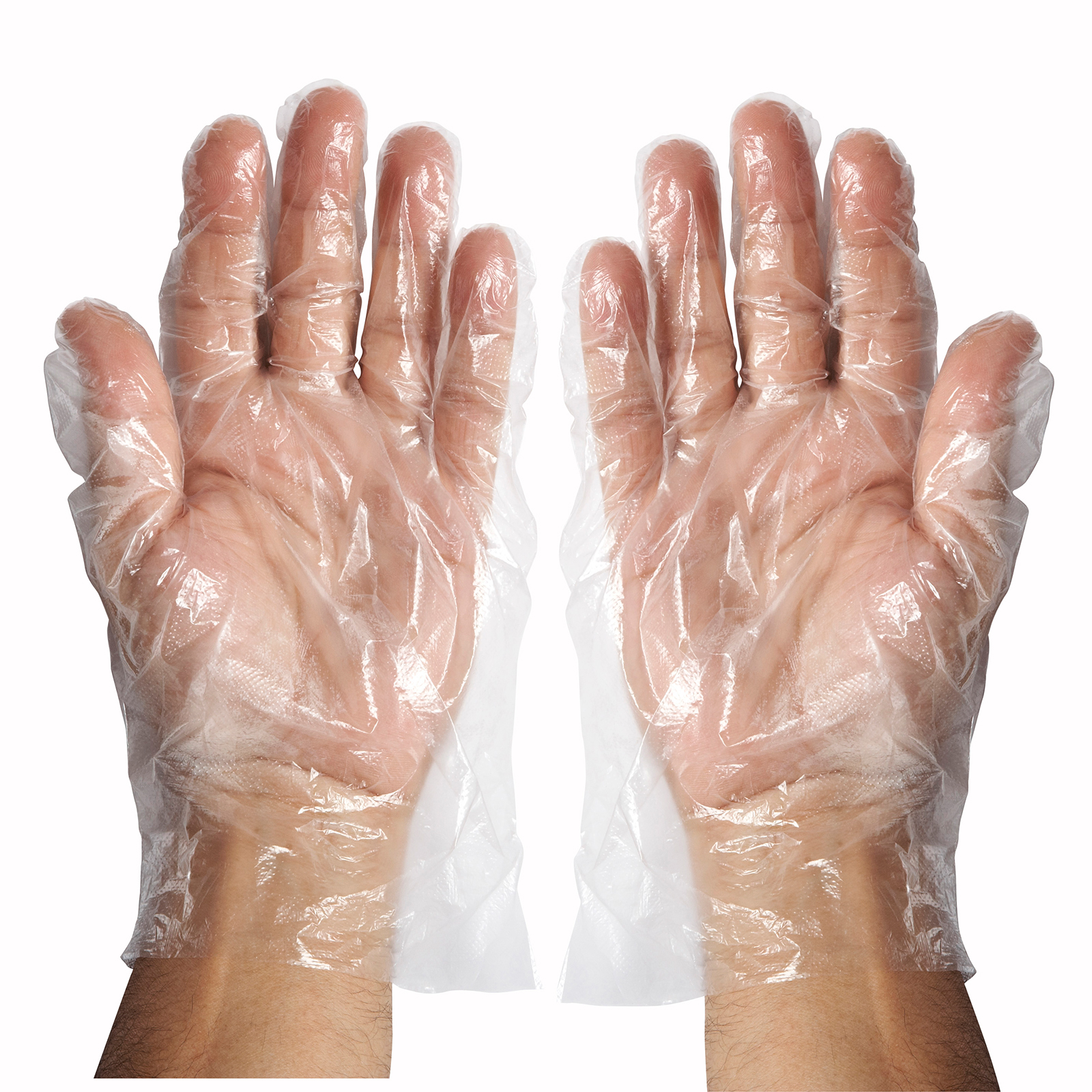 1550-10 Winco GLP-L disposable gloves