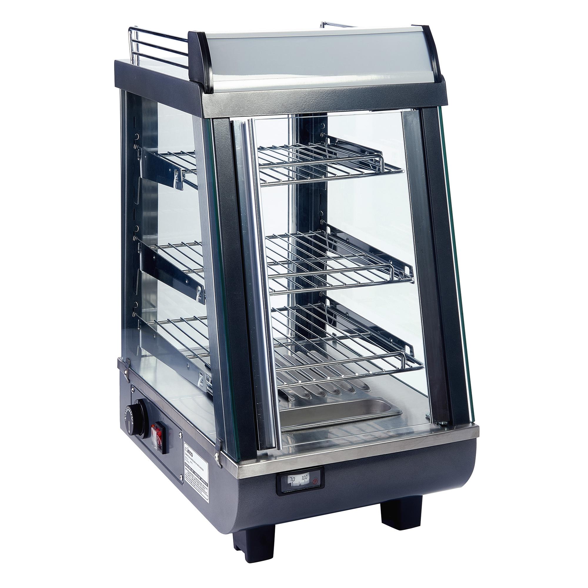 HDM-13 Winco display case, hot food, countertop