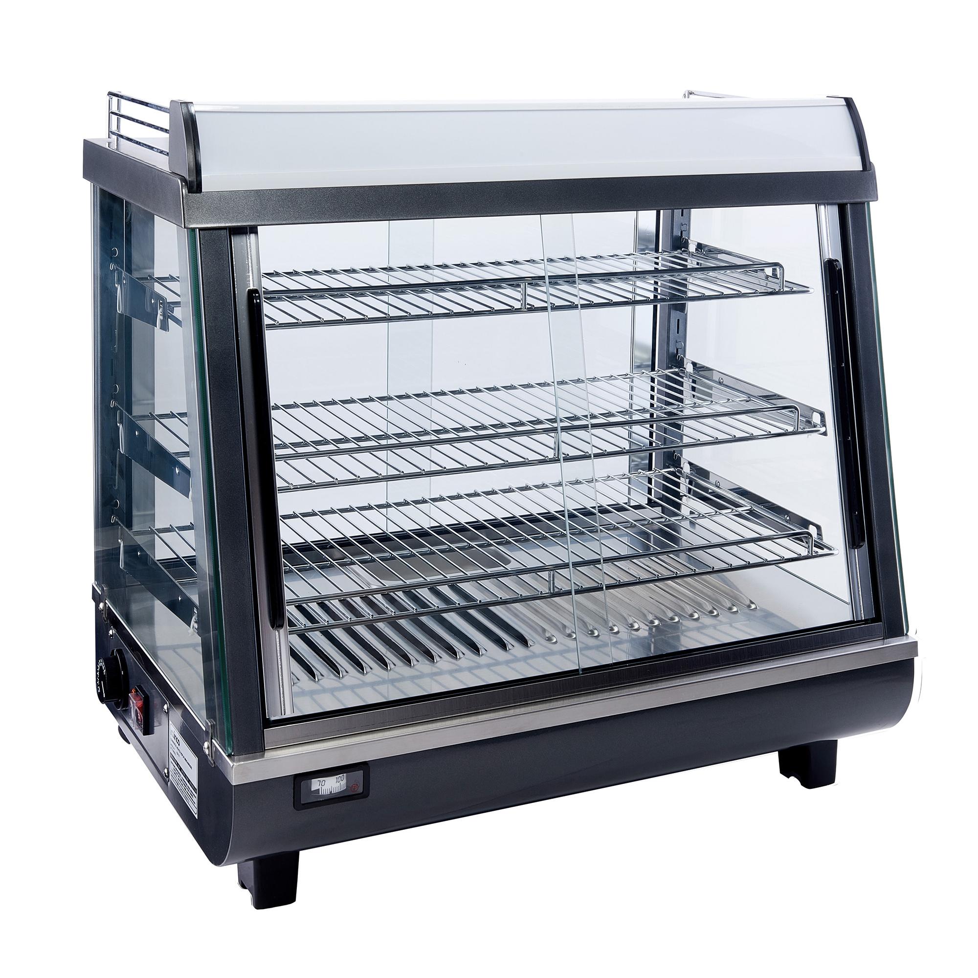 HDM-26 Winco display case, hot food, countertop