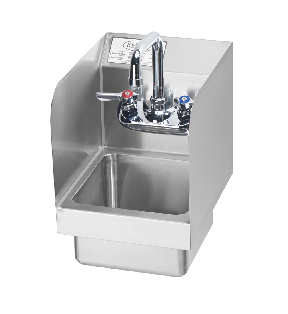 HS-19 Krowne Metal sink, hand