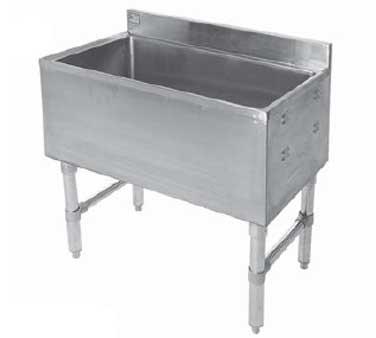 ICP-1836-8C Klinger's Trading underbar ice bin/cocktail unit
