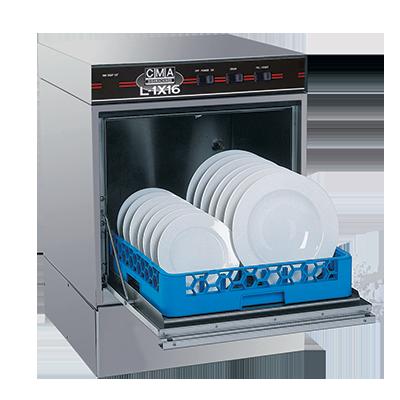L-1X16 CMA Dishmachines dishwasher, undercounter
