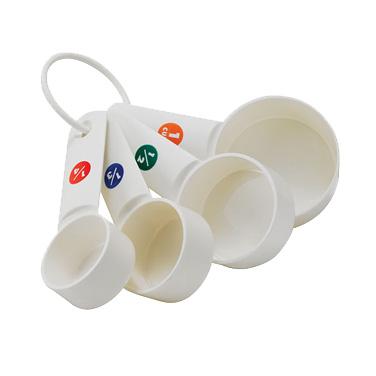 6000-25 Winco MCPP-4 measuring cups