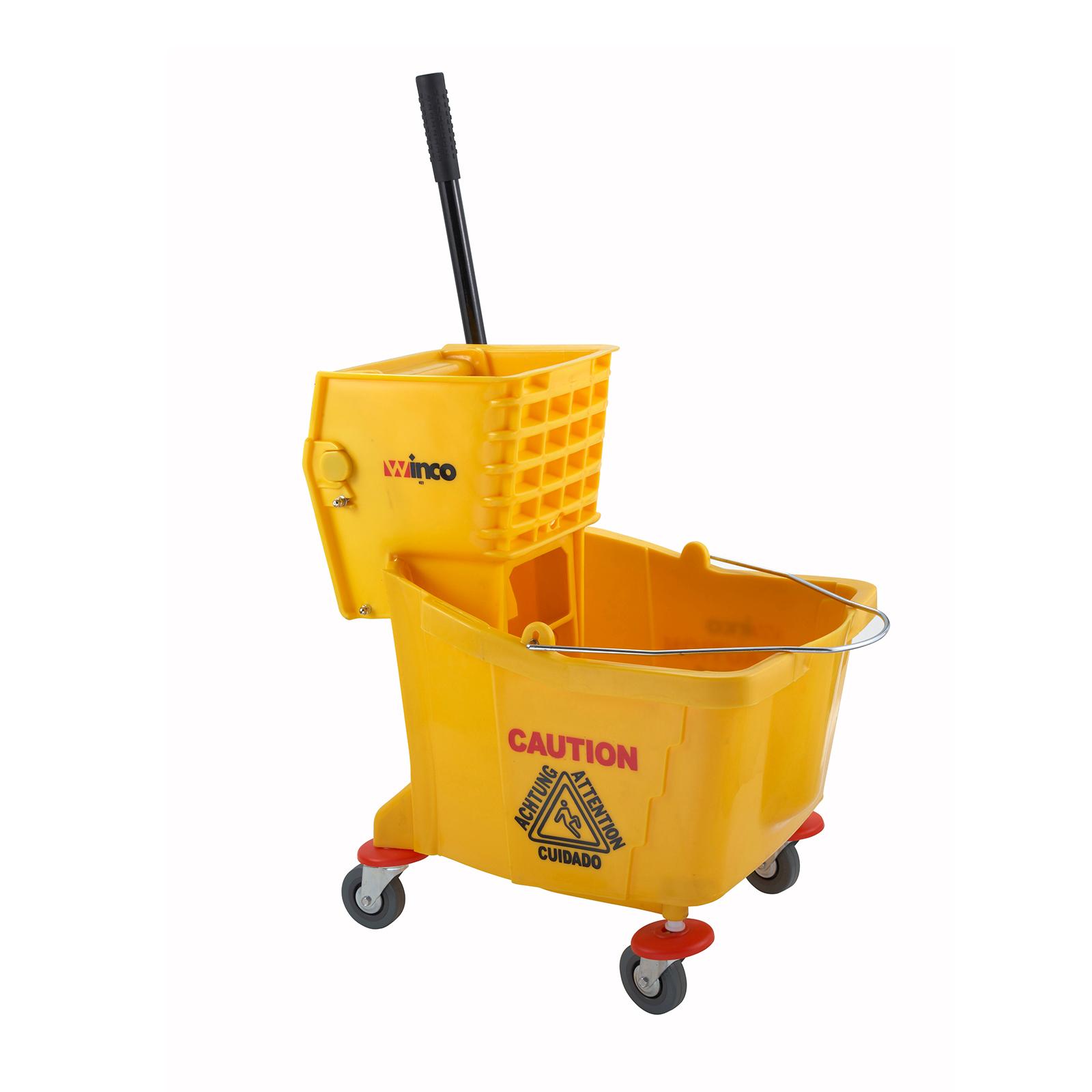 3700-17 Winco MPB-36 mop bucket wringer combination