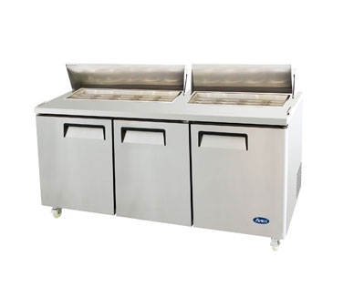 MSF8304 Atosa USA refrigerated counter, sandwich / salad unit