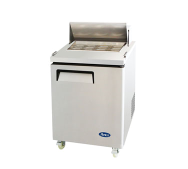 MSF8305 Atosa USA refrigerated counter, mega top sandwich / salad unit