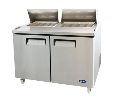 MSF8307 Atosa USA refrigerated counter, mega top sandwich / salad unit