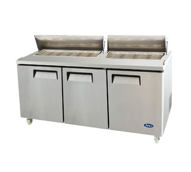 MSF8308 Atosa USA refrigerated counter, mega top sandwich / salad unit