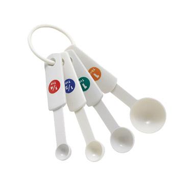 1750-07 Winco MSPP-4 measuring spoons