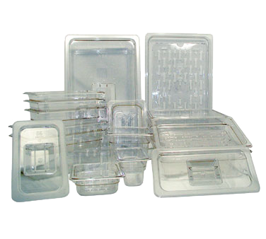 2410-031 Crown Brands, LLC PCP-256 food pan, 1/4size 6in D, plastic