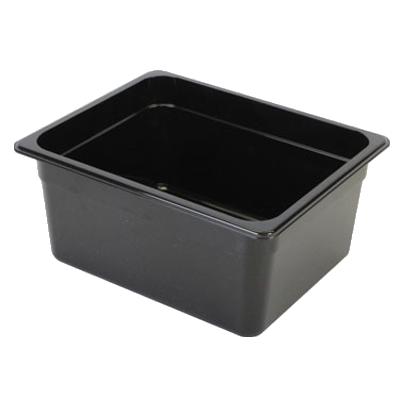 2410-37 Thunder Group PLPA8126BK food pan, plastic