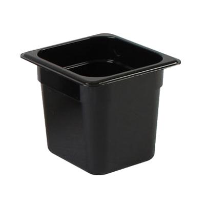 2410-34 Thunder Group PLPA8166BK food pan, plastic