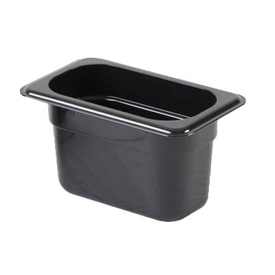 2410-38 Thunder Group PLPA8194BK food pan, plastic