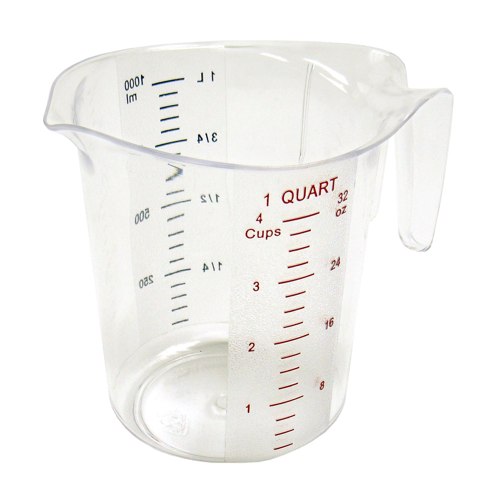 1750-32 Winco PMCP-100 measuring cups