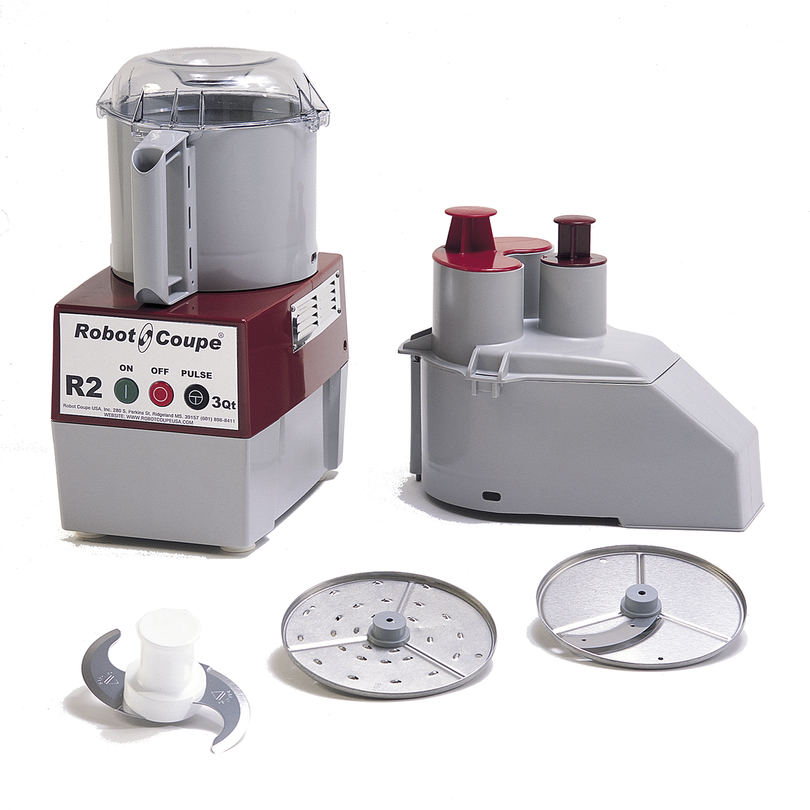 R2N Robot Coupe food processor, benchtop / countertop