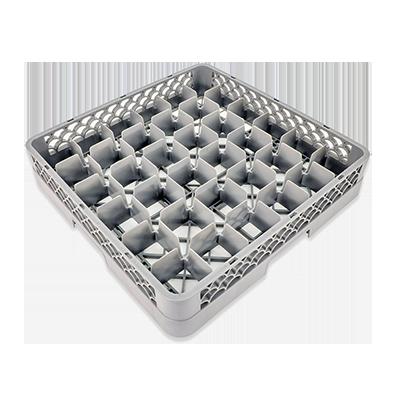 3850-68 Crestware RBC36 dishwasher rack, glass compartment